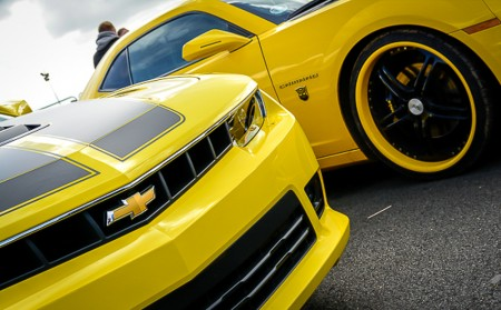 Automotive photography Santa Pod- bumblebee