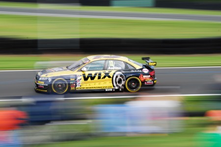 Rob Austin Audi a4 in the BTCC at Oulton park